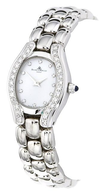 Baume and Mercier Gala 18 kt. White Gold Diamond Watch
