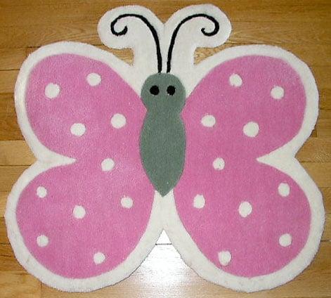 Butterfly Shape Rug (2'3 x 2'3)