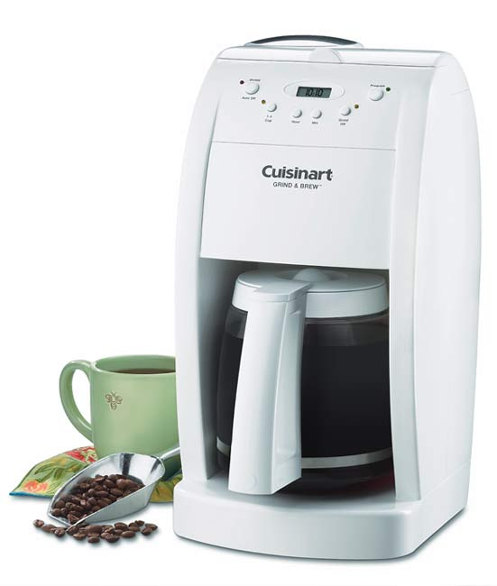 Cuisinart Coffee Maker With Grinder Leaking : Cuisinart Grind and Brew Coffee Maker (Refurbished) - 949579 - Overstock.com Shopping - Great ...