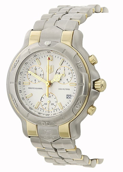 Tag Heuer 6000 Men's Two-tone Chronograph Watch