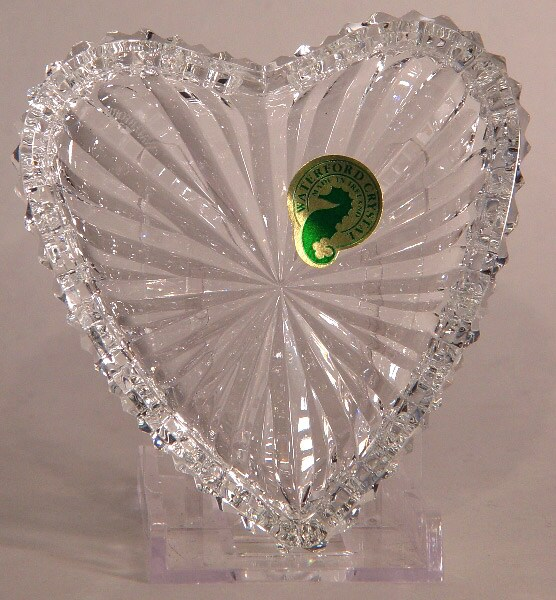 Waterford Crystal Heart Ring Dish