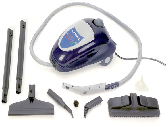 Euro Pro Portable Tidy Hydra Steam Cleaner Refurbished