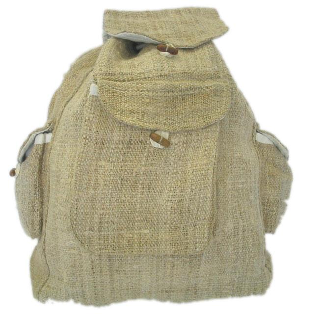 Large Hemp Backpack, Nepal (Case of 2)