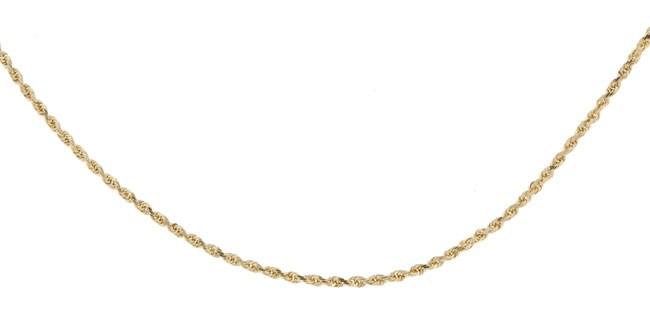 14k Yellow Gold 20-inch Diamond-cut Rope Chain (1.75 mm)