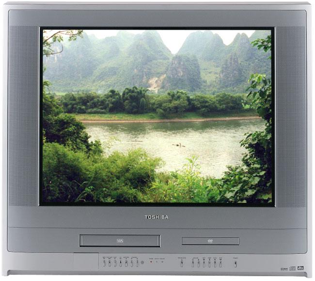 Toshiba MW27FP1 27-inch TV/DVD/VCR Combo (Refurbished)