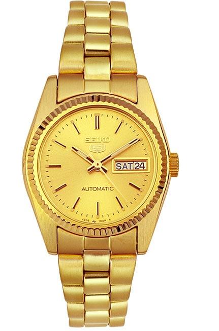 Seiko Women's Goldtone Automatic Day/ Date Watch
