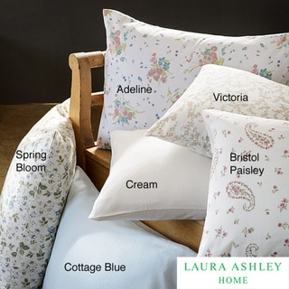 Laura Ashley 4-piece Flannel Sheet Set
