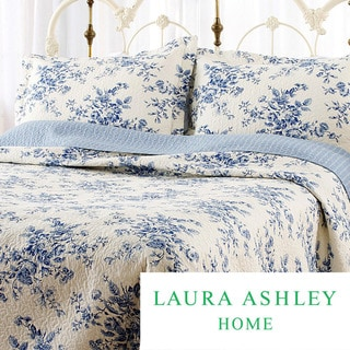 Laura Ashley Collette 3-piece Quilt Set