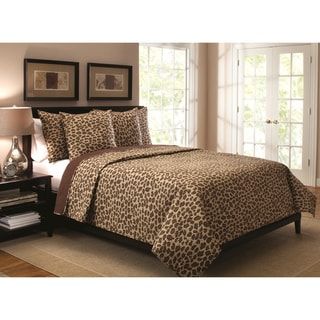 Leopard 3-piece Quilt Set