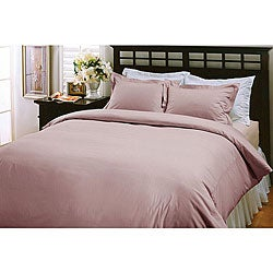 Lilac 220 Thread Count Cotton 3-piece Duvet Cover Set