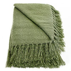 Liz Willow Acrylic Mohair Throw