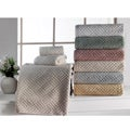 "Lucia Minelli ""Santa Clara"" Sculpted Body Jacquard 6-piece Towel Set"