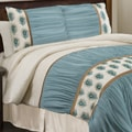 Lush Decor Aurora 4-piece King/Cal King-size Comforter Set