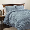 Lush Decor Blue Venetian 4-piece Full-size Comforter Set