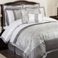 Lush Decor Gray Urban Savanna 8-piece Comforter Set
