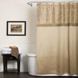 Lush Decor Serengeti Tan Shower Curtain