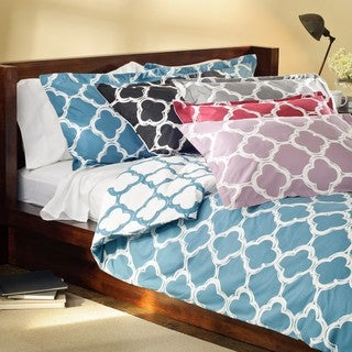 Lyon 3-piece Full/Queen-size Duvet Cover Set