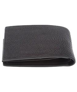 Croton Men's Black Stingray Wallet