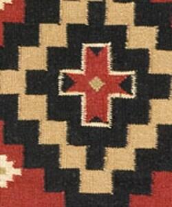 Hand-woven Sancho Flat Wool Rug (8' x 10')