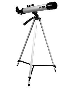 Vivitar 50x/100x Refractor Telescope with Tripod