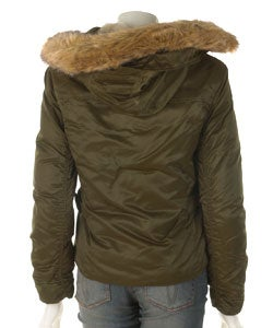 JLo by Jennifer Lopez Mini Faux Fur Hood Jacket
