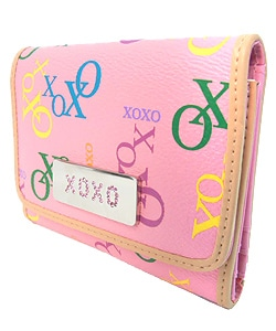 XOXO Sneak Attack Women's Tri-Fold Wallet