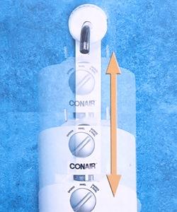 Conair Aquassager Oscillating Shower Panel