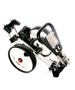 Upright Caddy 3-wheel Golf Push/Pull Cart