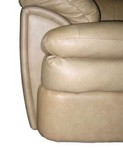 Cobblestone Leather Sofa and Loveseat