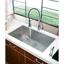 Vigo Modern Pull-out Spiral Kitchen Mixer Faucet