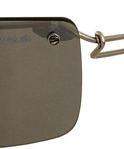 Diesel Rectangular Mirror Lens Sunglasses