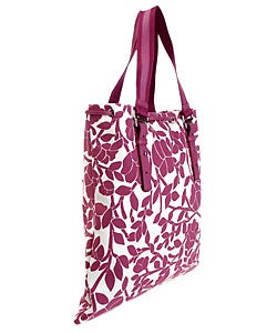 YSL Floral Fabric Logo Tote Bag - 10515563 - Overstock.com ...