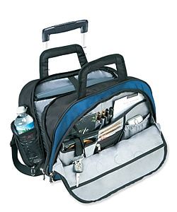 Executive Rolling Computer Mobile Office Briefcase