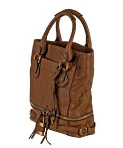 Chloe Paddington Shopper Tote - 10520497 - Overstock.com Shopping ...