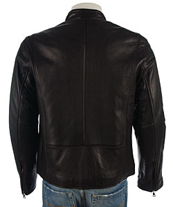 Marc by Andrew Marc Men's Leather Jacket - Overstock  Shopping - Big