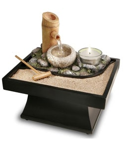 Cordless Feng Shui Tranquility Fountain 10570407
