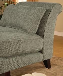 Aqua Weave Slipper Chair