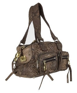 Chloe Washed Python Betty Bag - 10573876 - Overstock.com Shopping ...