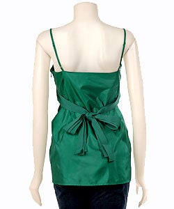 BCBGirls Emerald Green Lolita Babydoll Top