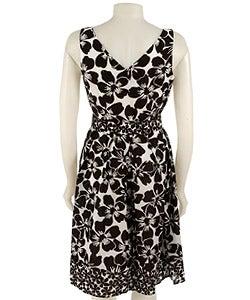 jessica howard sleeveless floral print dress  10585018
