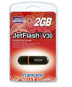 Transcend 2GB JetFlash V30 USB 2.0 Flash Drive