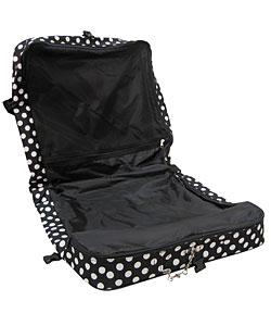 Olympia Jasmine Collection Polka Dot Luggage Set