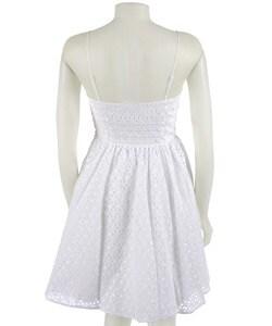 betsey johnson white eyelet dress  overstock™ shopping