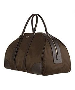 Prada Nylon Weekend Bag - 10773488 - Overstock.com Shopping ...