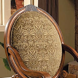 Large Scroll Arm Chair Sage