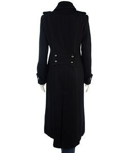 Justsweet Full Length Military Style Coat