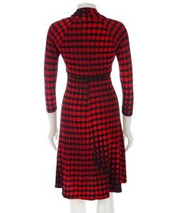 Donna Morgan Printed Matte Jersey Dress