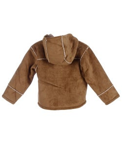 Big Chill Boy's Bonded Faux Shearling Toggle Coat