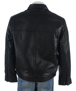 Boston Harbor Men's Leather Jacket
