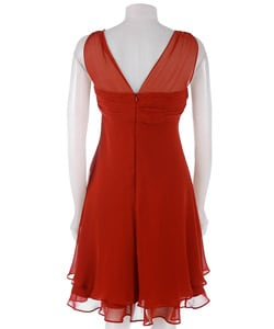 Donna Ricco Petite Fly Away Cocktail Dress